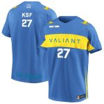 KSF Los Angeles Valiant Powder Blue Overwatch League Home Player Jersey