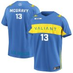 McGravy Los Angeles Valiant Powder Blue Overwatch League Home Player Jersey