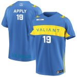 Apply Los Angeles Valiant Powder Blue Overwatch League Home Player Jersey