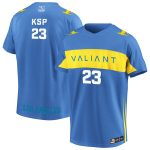 Staple KSP Los Angeles Valiant Light Blue Authentic Home Player Jersey