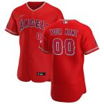 Nike Los Angeles Angels Red 2020 Alternate Authentic Custom Jersey