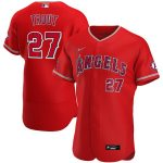Nike Mike Trout Los Angeles Angels Red Alternate 2020 Authentic Player Jersey