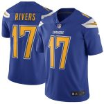 Nike Philip Rivers Los Angeles Chargers Royal Vapor Untouchable Color Rush Limited Player Jersey