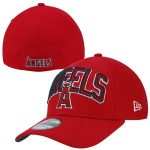 New Era Los Angeles Angels Red 39THIRTY Diamond Era Flex Hat