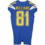 Fanatics Authentic Mike Williams Los Angeles Chargers Game-Used #81 Blue Jersey vs. Minnesota Vikings on December 15, 2019 - 4 Rec. 71Yds, 1 TD