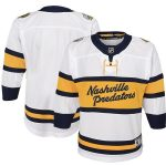 Nashville Predators Youth White 2020 Winter Classic Premier Jersey