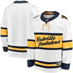 Fanatics Branded Nashville Predators White 2020 Winter Classic Breakaway Jersey