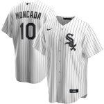 Nike Yoan Moncada Chicago White Sox White Home 2020 Replica Player Jersey
