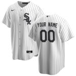 Nike Chicago White Sox Youth White/Black 2020 Home Replica Custom Jersey