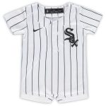 Nike Chicago White Sox Newborn & Infant White Official Jersey Romper