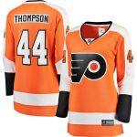 Fanatics Branded Nate Thompson Philadelphia Flyers Women's Orange Breakaway Home Player Jersey