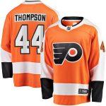 Fanatics Branded Nate Thompson Philadelphia Flyers Orange Breakaway Home Player Jersey