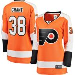 Fanatics Branded Derek Grant Philadelphia Flyers Women's Orange Breakaway Home Player Jersey