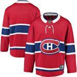 Fanatics Branded Montreal Canadiens Youth Red Breakaway Home Jersey