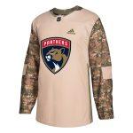 adidas Florida Panthers Camo Veterans Day Practice Jersey