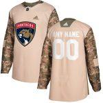adidas Florida Panthers Camo Veterans Day Custom Practice Jersey