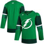 adidas Tampa Bay Lightning Green 2020 St. Patrick's Day Jersey