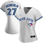 Nike Vladimir Guerrero Jr. Toronto Blue Jays Women's White Home 2020 Replica Player Jersey