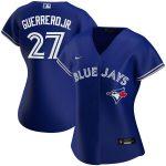 Nike Vladimir Guerrero Jr. Toronto Blue Jays Women's Royal Alternate 2020 Replica Player Jersey