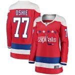 Fanatics Branded TJ Oshie Washington Capitals Women's Red Alternate Breakaway Player Jersey