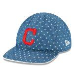 New Era Cleveland Indians Toddler Denim 9TWENTY Adjustable Flip Hat