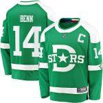 Fanatics Branded Jamie Benn Dallas Stars Green 2020 Winter Classic Breakaway Player Jersey
