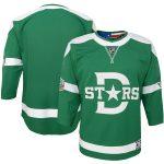 Dallas Stars Youth Green 2020 Winter Classic Premier Jersey