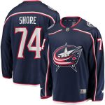 Fanatics Branded Devin Shore Columbus Blue Jackets Navy Breakaway Home Player Jersey