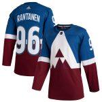 adidas Mikko Rantanen Colorado Avalanche Blue/Burgundy 2020 Stadium Series Authentic Player Jersey