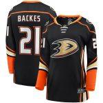 Fanatics Branded David Backes Anaheim Ducks Women's Black Breakaway Home Player Jersey