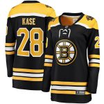 Fanatics Branded Ondrej Kase Boston Bruins Women's Black Breakaway Home Player Jersey