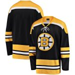 Fanatics Branded Boston Bruins Black Premier Breakaway 1962-63 Heritage Blank Jersey