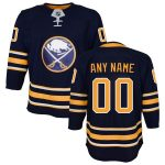 Buffalo Sabres Youth Navy Home Premier Custom Jersey
