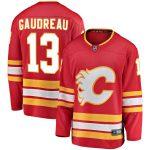 Fanatics Branded Johnny Gaudreau Calgary Flames Youth Red Alternate Breakaway Player Jersey