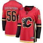 Fanatics Branded Erik Gustafsson Calgary Flames Women's Red Breakaway Home Player Jersey
