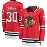 Fanatics Branded Malcolm Subban Chicago Blackhawks Women's Red Breakaway Home Player Jersey