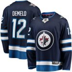 Fanatics Branded Dylan DeMelo Winnipeg Jets Navy Breakaway Player Home Jersey