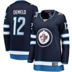 Fanatics Branded Dylan DeMelo Winnipeg Jets Women's Navy Breakaway Player Home Jersey
