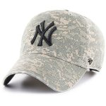 '47 New York Yankees Camo Phalanx Clean Up Adjustable Hat