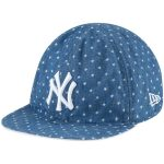New Era New York Yankees Infant Denim/White Flip 9TWENTY Adjustable Hat