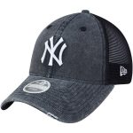 New Era New York Yankees Women's Navy Tonal Washed Trucker 9TWENTY Adjustable Hat