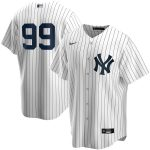 Nike Aaron Judge New York Yankees White Home 2020 Replica Player Jersey