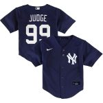 Nike Aaron Judge New York Yankees Toddler Navy Alternate 2020 Replica Player Jersey