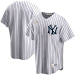 Nike New York Yankees White Home Cooperstown Collection Team Jersey