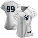 Nike Aaron Judge New York Yankees Women's White Home 2020 Replica Player Jersey