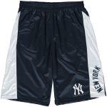 New York Yankees Navy/White Big & Tall Two-Tone Shorts
