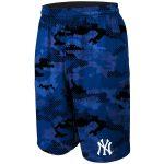 New York Yankees Navy Camo Training Shorts