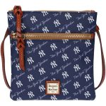 Dooney & Bourke New York Yankees League Double Zip Crossbody Purse