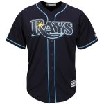 Majestic Tampa Bay Rays Youth Navy Official Cool Base Jersey