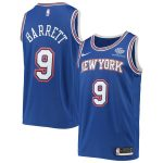 Nike RJ Barrett New York Knicks Blue 2019/20 Swingman Jersey - Statement Edition